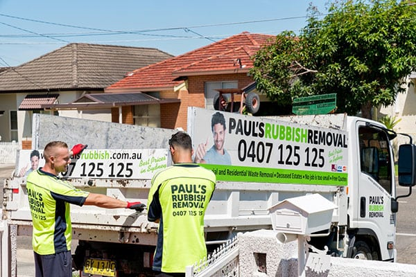 Rubbish Removal North Sydney
