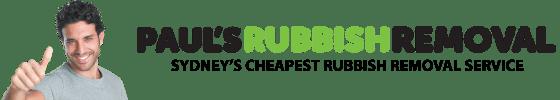 Paul's Rubbish Removal Logo