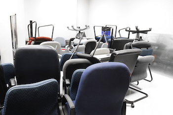 garbage office chairs
