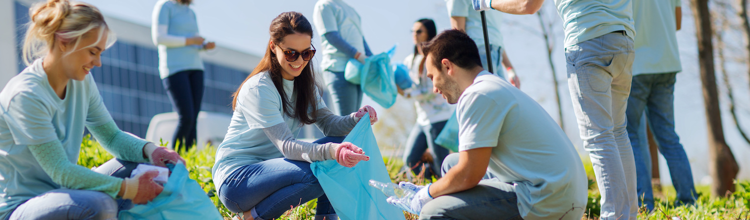 locals help cleaning up environment