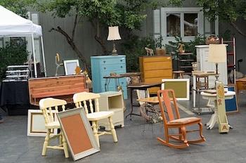 old furniture rubbish
