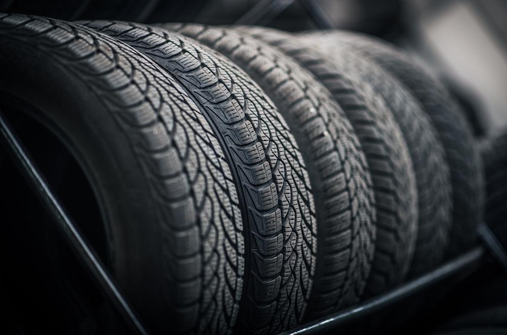 Car Tires Rack