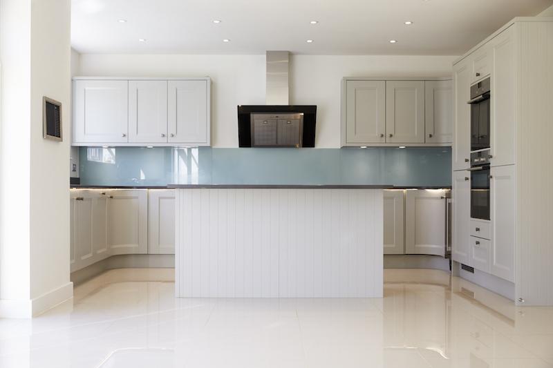 Empty Kitchen In Modern House