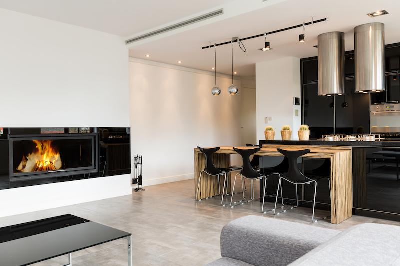 Minimalist elegant living room