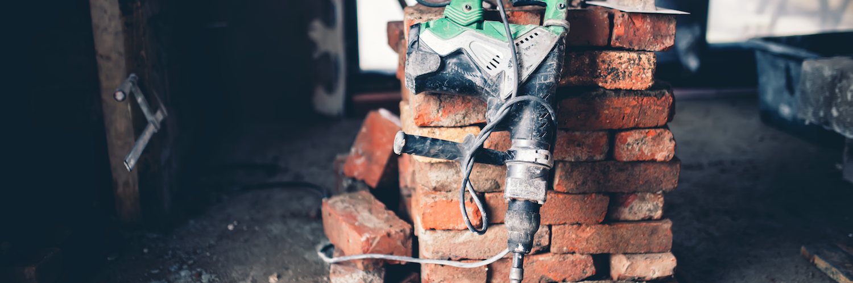 demolition bricks