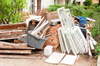unwanted rubbish