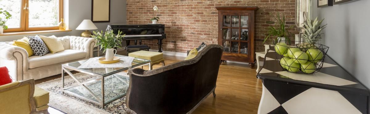 deceased estate living room