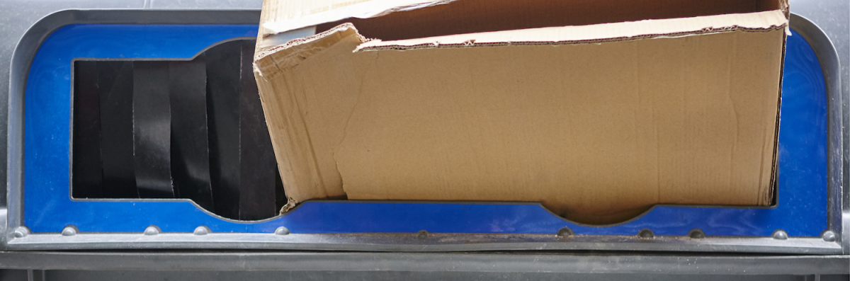 cardboard disposal
