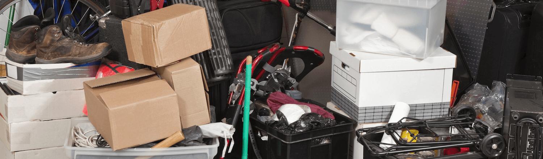 hoarded rubbish