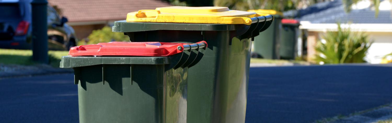 household wheelie bins
