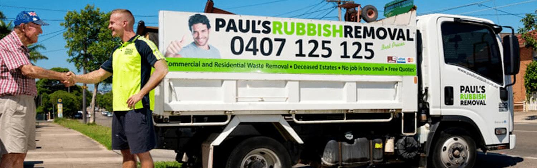 Our rubbish removal service
