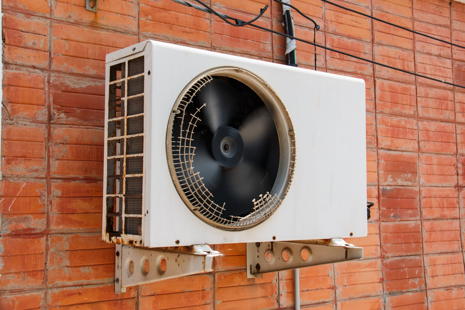 old compressor air-conditioner