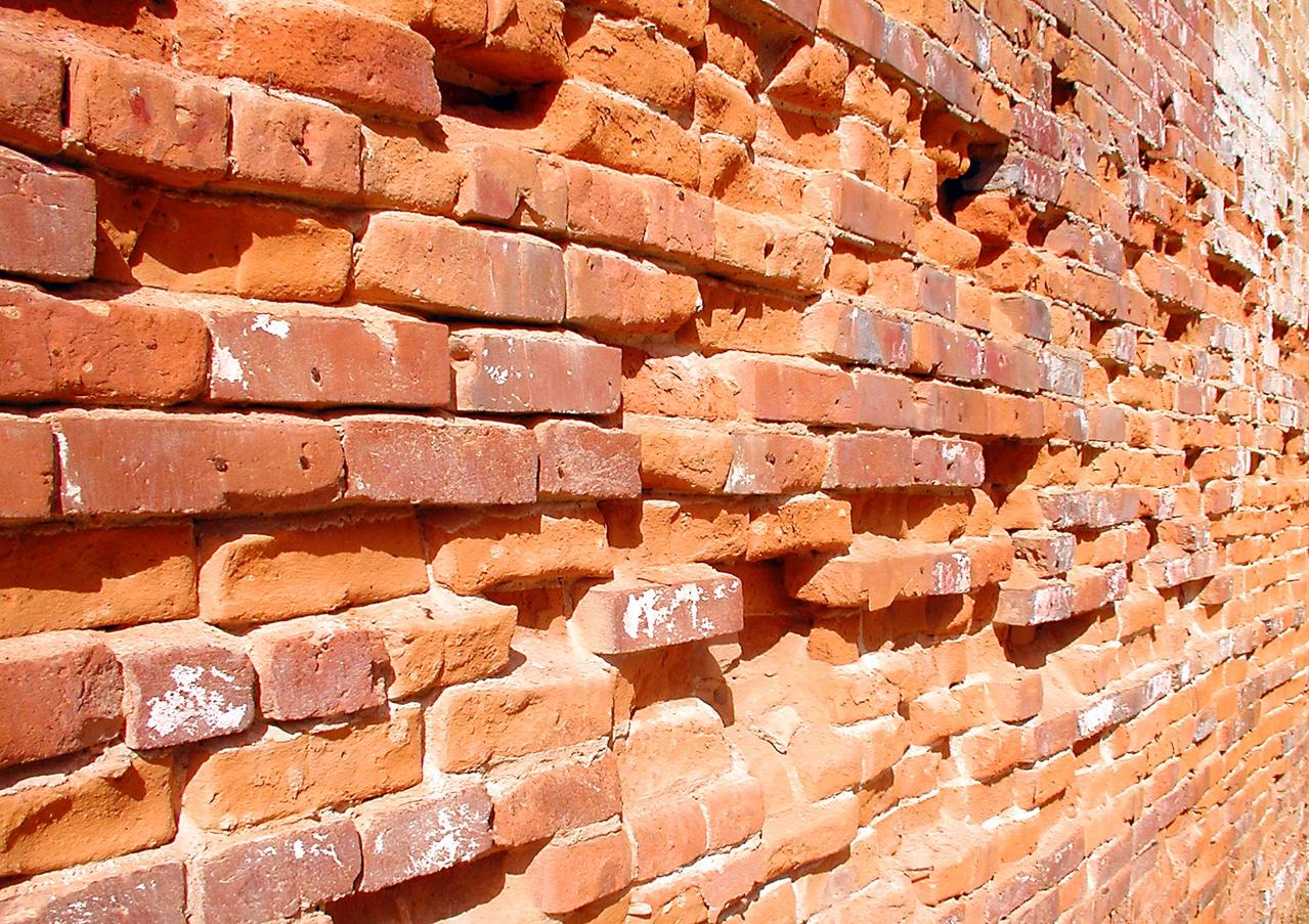 aged bricks for demolition