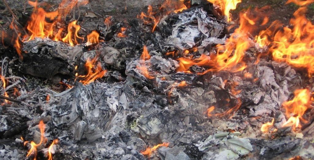 rubbish incineration
